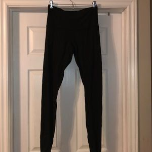 High waisted black lululemon leggings